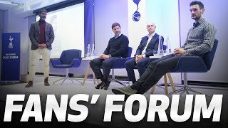 FANS' FORUM | Daniel Levy, Mauricio Pochettino and Hugo Lloris