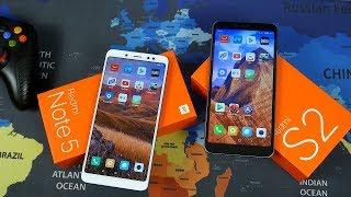 Что купить Xiaomi Redmi Note 5 или Xiaomi Redmi S2 в 2018 году?