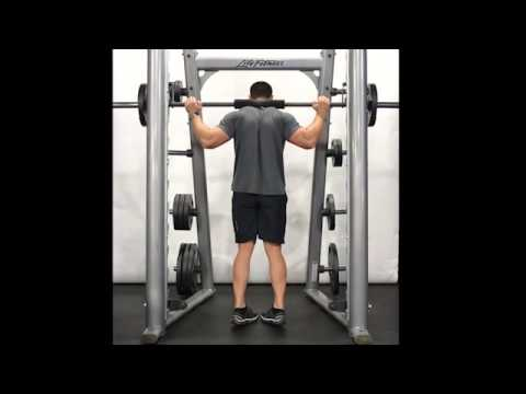 Calf Raise (Smith Machine) - Standing/Toes In