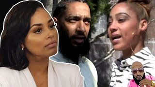 Nipsey Hussles Baby Mama WANTS SMOKE With Lauren London CLAPS ON IG Comments