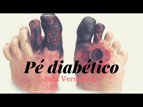 Diabetes com o aumento da insulina no sangue