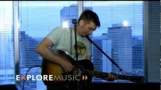 John Samson performs at ExploreMusic