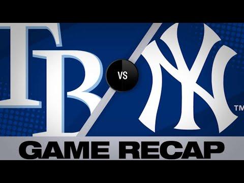 Maybin, Encarnacion power Yankees to 6-3 win | Rays-Yankees Game Highlights 6/18/19