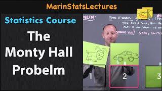 The Monty Hall Problem   Statistics Tutorial   MarinStatsLectures