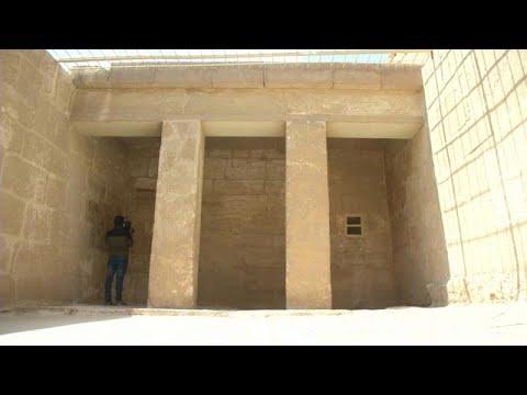 العرب اليوم - شاهد:مصر تفتح مقبرة ميحو الفرعونية للزائرين والسياح