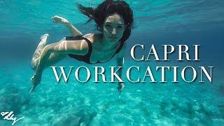 Two Hour Vacation?? | Capri Workcation | Lily Aldridge