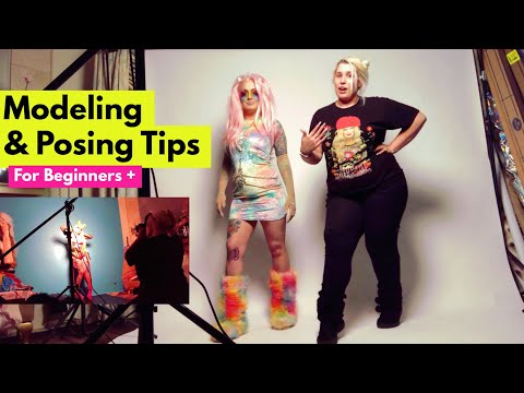 Modeling & Posing Tips for Beginners | Tragic Glamour Tuesday
