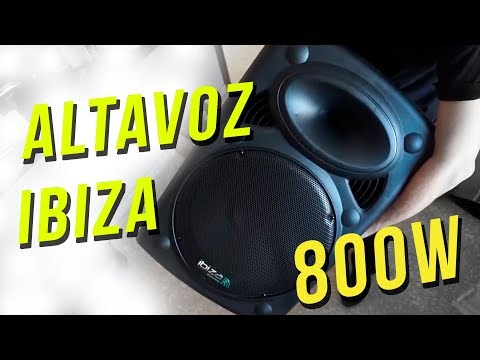 ¡ALTAVOZ AUTOAMPLIFICADO IBIZA 800W! - Review