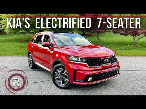 The 2021 Kia Sorento Hybrid is an Efficient Turbo-Electric 3-Row Family SUV
