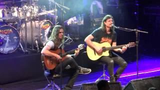 Angra - Reaching Horizons   Late Redemption   Make Believe - Uberlândia 03/08/13