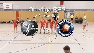 preview picture of video 'Oberliga RPS: SG Saulheim vs. TV Nieder-Olm 27:33'