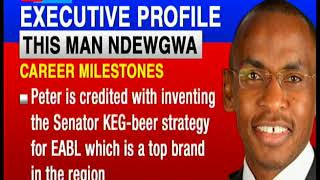 The new Safaricom PLC CEO Peter Ndegwa's profile