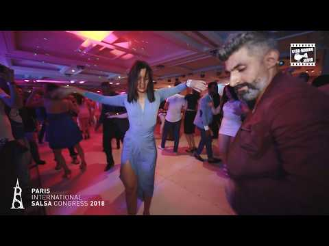 Dj Oj & Ella Jauk - social dancing @ PARIS INTL SALSA CONGRESS 2018