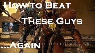 How to Beat Lt. Lech Kril and Cpt. Vor in Warframe