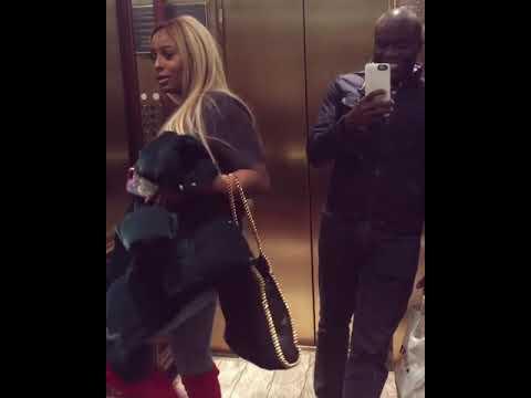 Nigerian Billionaire's Daughter, DJ Cuppy found twerking for a guy inside Elevator