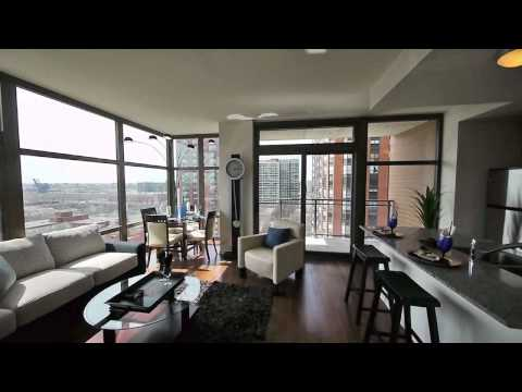 Touring two-bedrooms at Astoria Tower