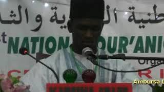Abdulganiyyu Aminu 60hizb from katsina state