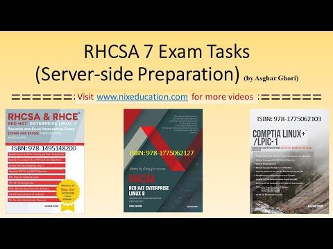 RHCSA 7 LAB Server Preparation (1 of 2 videos) - YouTube