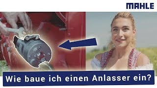 DIY Tutorial mahle Anlasser