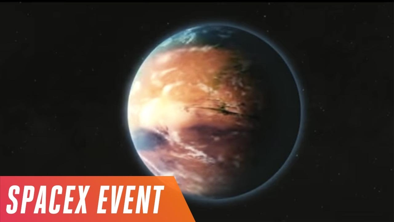 Elon Musk's Mars colonization event in 5 minutes thumbnail