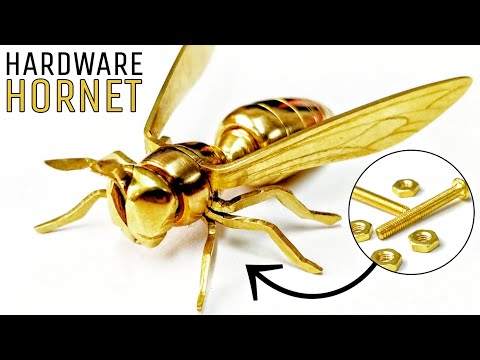 Building a Golden Wasp From Nuts and Bolts