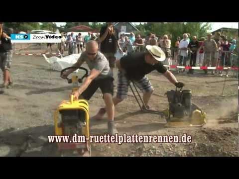 2. Deutsche Meisterschaft im Rüttelplatten - Rennen 2012