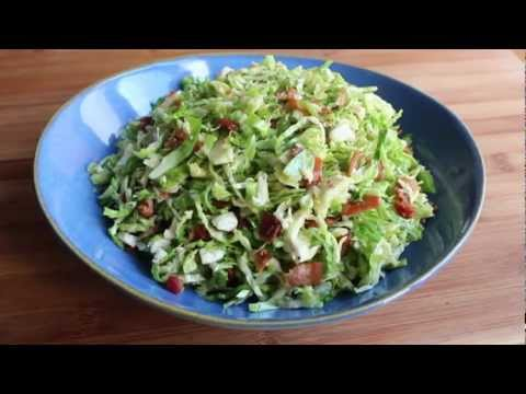Brussels Sprouts with Warm Bacon Dressing – Thanksgiving Side Dish Recipe