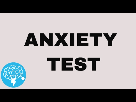 Do You Have Anxiety? (TEST) Mp3