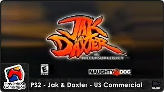 PlayStation 2 (PS2) - Jak & Daxter - US Commercial 2 (2001)