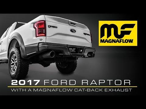 2017 ford raptor gets magnaflow cat