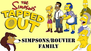 The Simpsons Tapped Out Completing Character Categories Simpsons/Bouvier Family