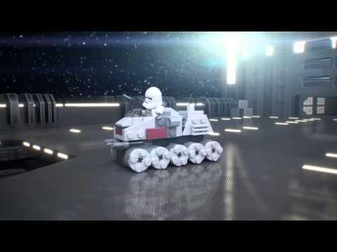 Vidéo LEGO Star Wars 75028 : Clone Turbo Tank