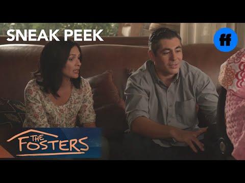 The Fosters 3.13 (Clip 'Brandon Overhears Conversation')