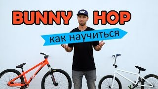 Как правильно научиться BUNNY HOP на BMX - MTB | Дневник тренера 1