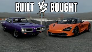 McLaren 720S VS Twin Turbo Dodge Super Bee - Built or Bought (Forza 7)