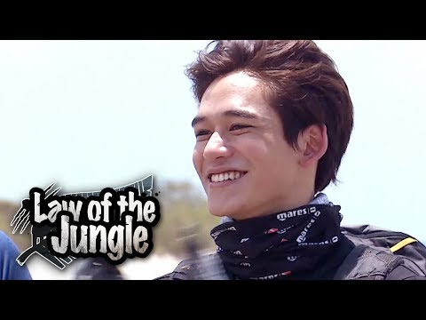 "Lucas ""I'm Confident! I'll Adapt To The Jungle!!"" [Law Of The Jungle Ep 338]"
