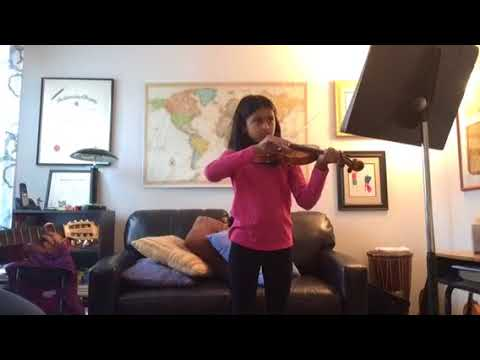 Dreidel Song violin with guitar accompaniment