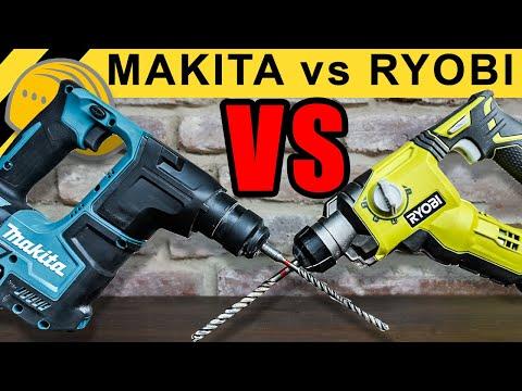 MAKITA vs RYOBI - BOHRHAMMER DUELL! - WERKZEUG NEWS #02