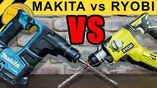 PROFI LIGA vs BAUMARKT! MAKITA BOHRHAMMER vs RYOBI! - WERKZEUG NEWS #02