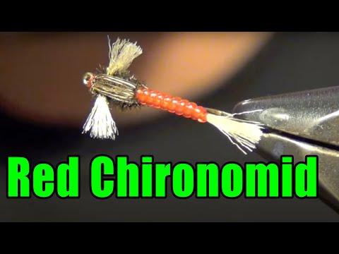 Tying a Chironomid Midge Larva