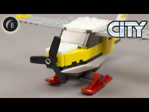 Vidéo LEGO City 60250 : L'avion postal