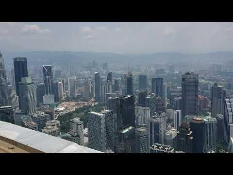 Views from to of KL Tower Kuala Lumpur,  Malaysia(1)
