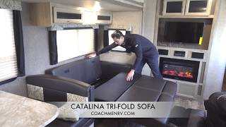 Coachmen Catalina How-To Guide: Tri-Fold Sofa