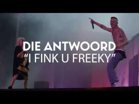 """Boomtown CH 10: Die Antwoord """"I Fink U Freeky"""" (Live 2018) (видео)"""