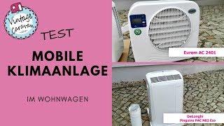 Test // mobile Klimaanlage im Wohnwagen / Eurom / Delonghi