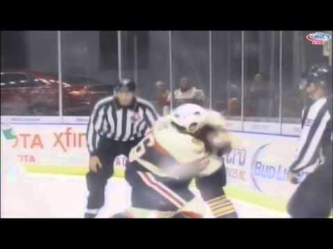 Garret Ross vs. Ivan Barbashev