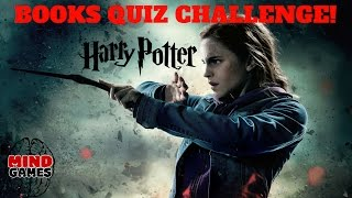 HARRY POTTER BOOKS QUIZ CHALLENGE - HARRY POTTER FACTS -  HARRY POTTER BOOKS KNOWLEDGE TEST
