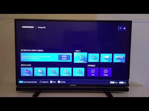 Bester Smart TV unter 400 Euro! Grundig 43 GFB 6621 - DVB-T2 HD, Bluetooth, Netflix, YouTube - Test