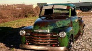 "1949 Slammed Chevrolet Hot Rat Street Rod Pro Touring Patina Truck The ""Dragon"""