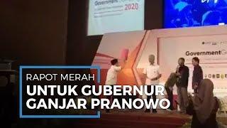 Video Presiden BEM UMY Berikan Rapor Merah ke Gubernur Ganjar Pranowo saat Acara Kampus Berlangsung